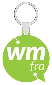 Webmontag Frankfurt Schlüsselanhänger